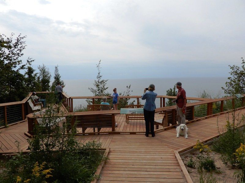 Mike Terrell: First universally accessible trail opens along lakeshore dunes