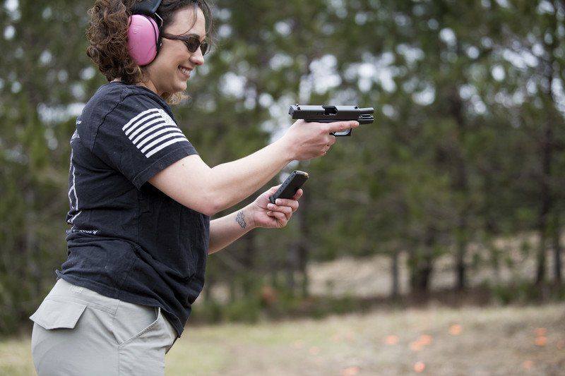 Vet offers women-led firearms classes, aims to make female students more comfortable