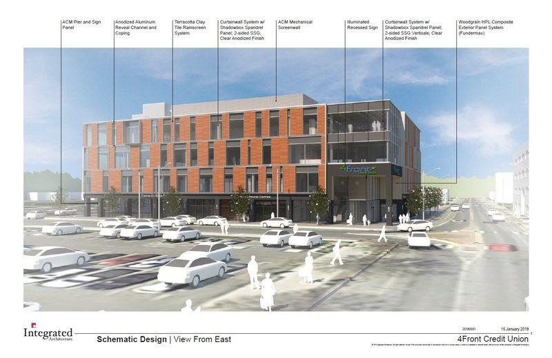 4Front plans offices for Pine Street site | Local News | record