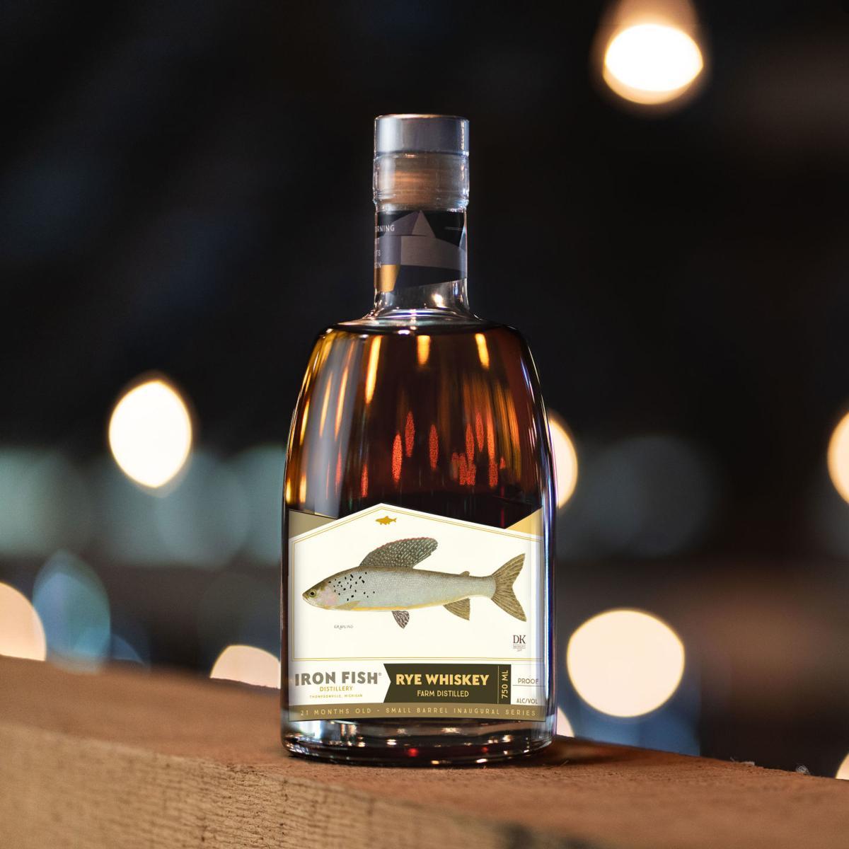 Iron Fish Rye Whiskey