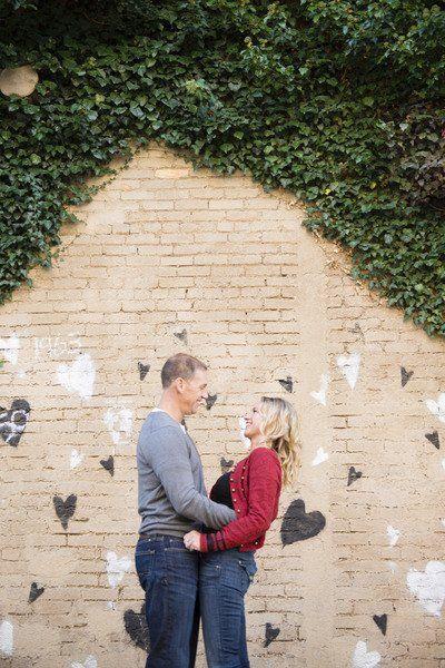 Street art with a heart