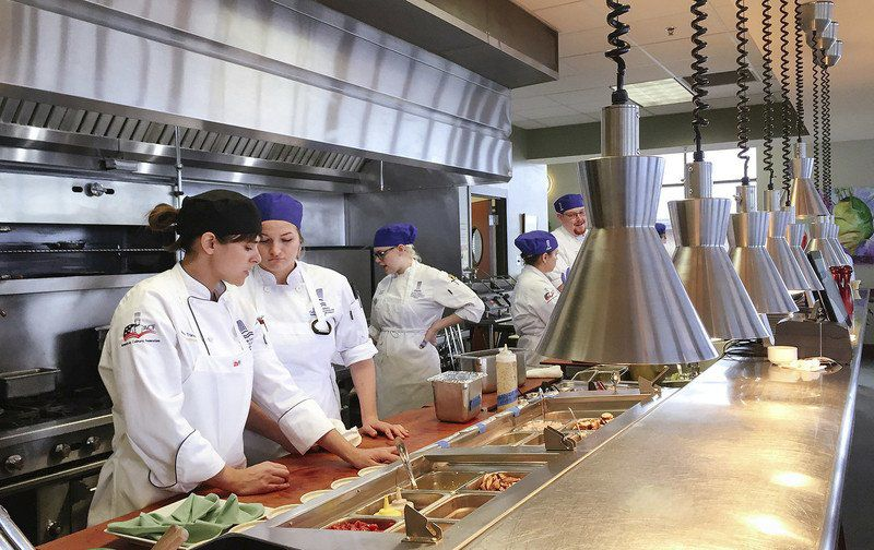 NMC culinary students compete for scholarship with small plate creations