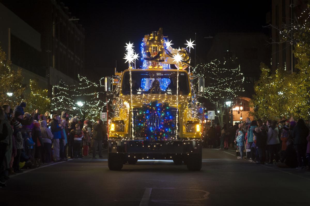 Downtown Light Parade