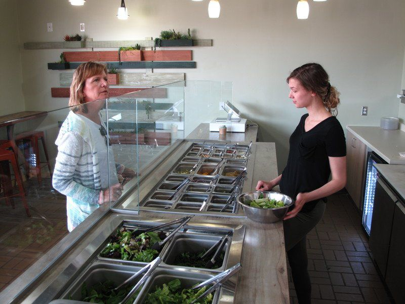 Salad is star at new TC eatery