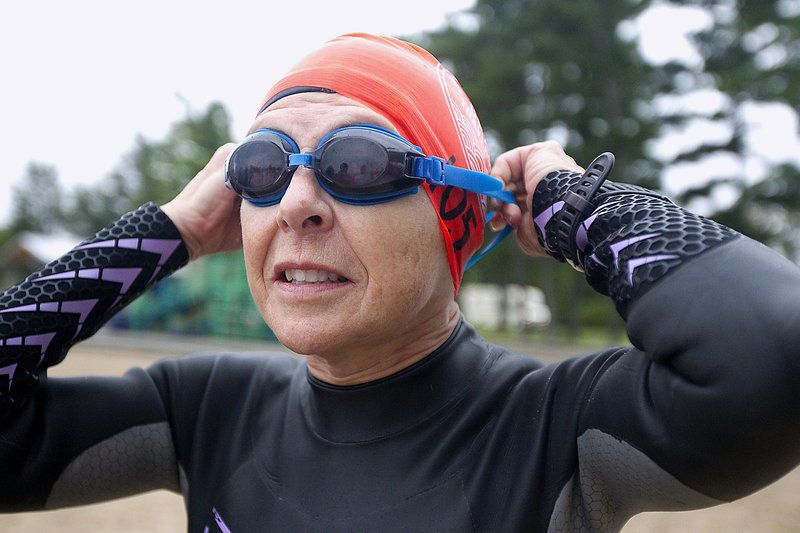 Swimmers test their mettle in Great Lakes challenges