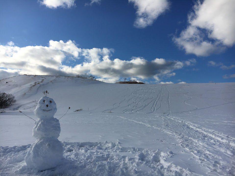 dune climb snowman