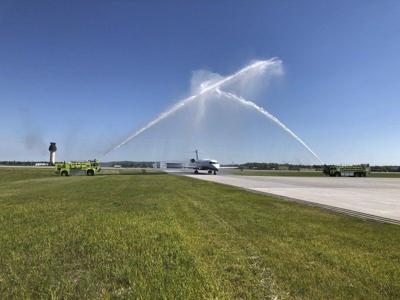 TC welcomes first direct flight from Dulles Intl.