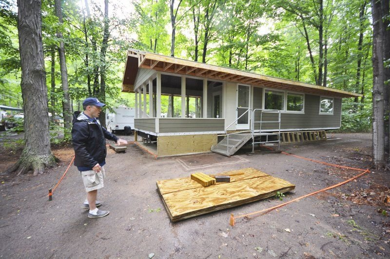 Upgrades power RV resort near Empire