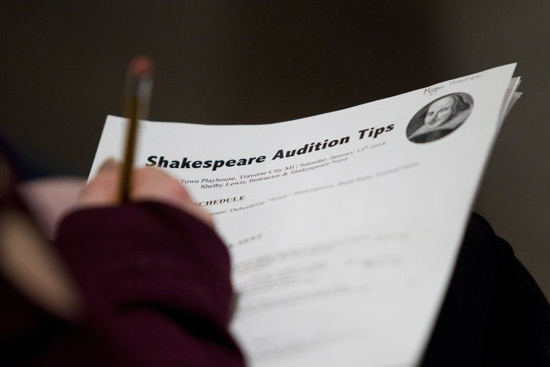 Solving Shakespeare stagefright