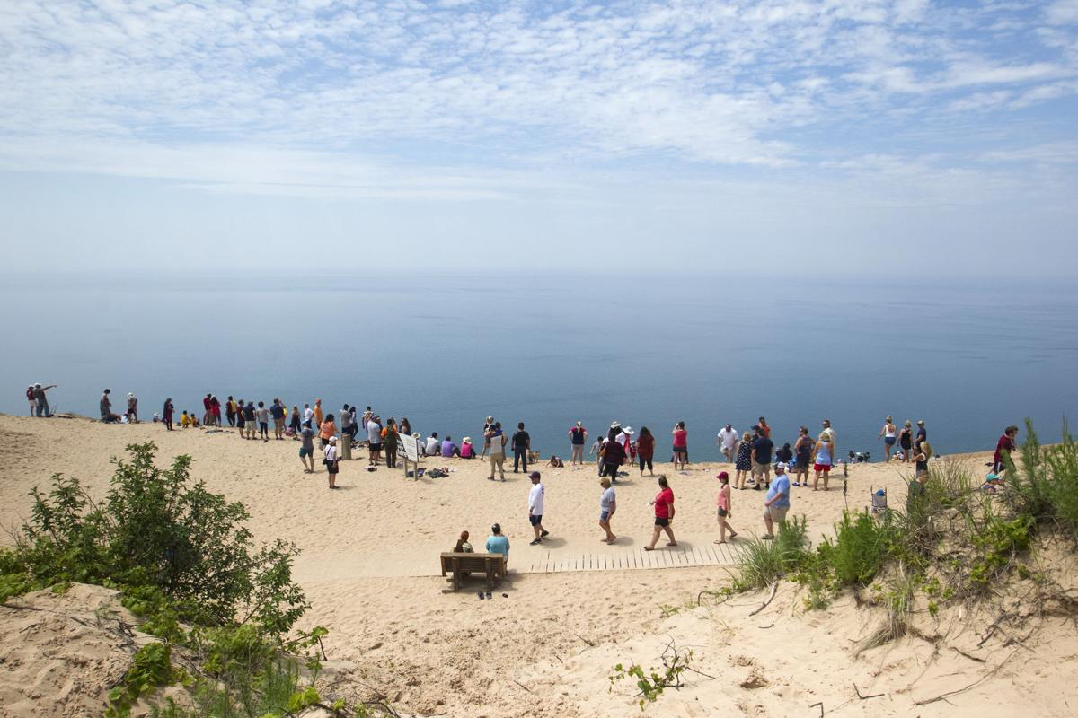 SLEEPING BEAR DUNES LEDE