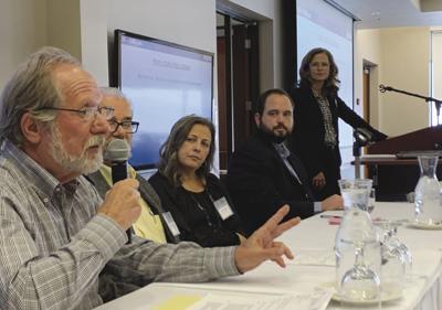 Rick Stein speaks at septic summit
