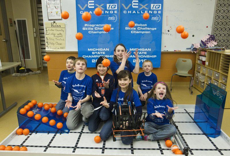 Elementary School Robotics Team Beats Middle School Students Local