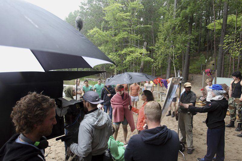 Local set, actors featured in 'Camp Manna' film
