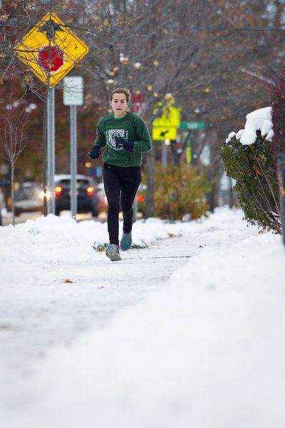Shaping up during shoulder season: Slushy sprints, gym sessions top workouts