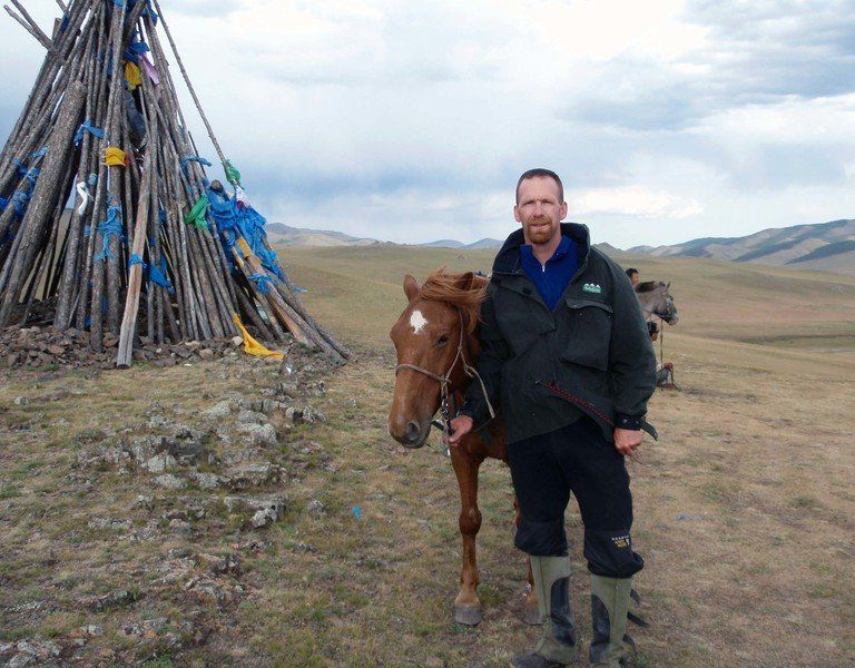 From Marine to Mongolia: Author draws on experiences for debut book
