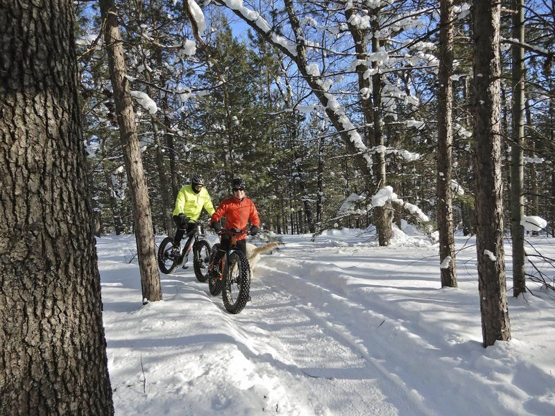 On the Trail: Hanson Hills a winter paradise for skiers, fat tire bikers