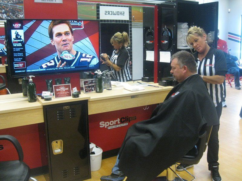 Sport Clips Opens Traverse City Franchise Local News Record