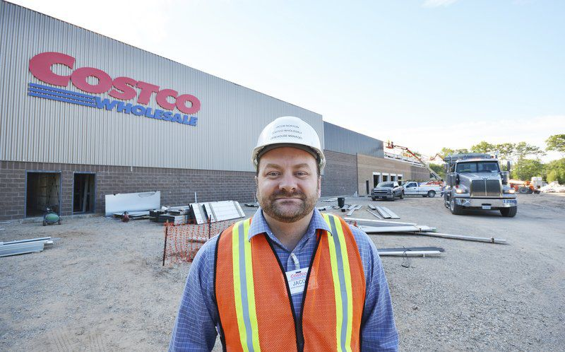 Costco Construction Site Humming