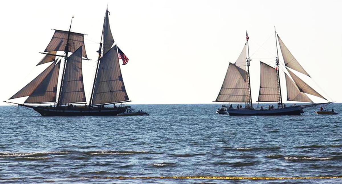 Tall ships in West Bay.jpg