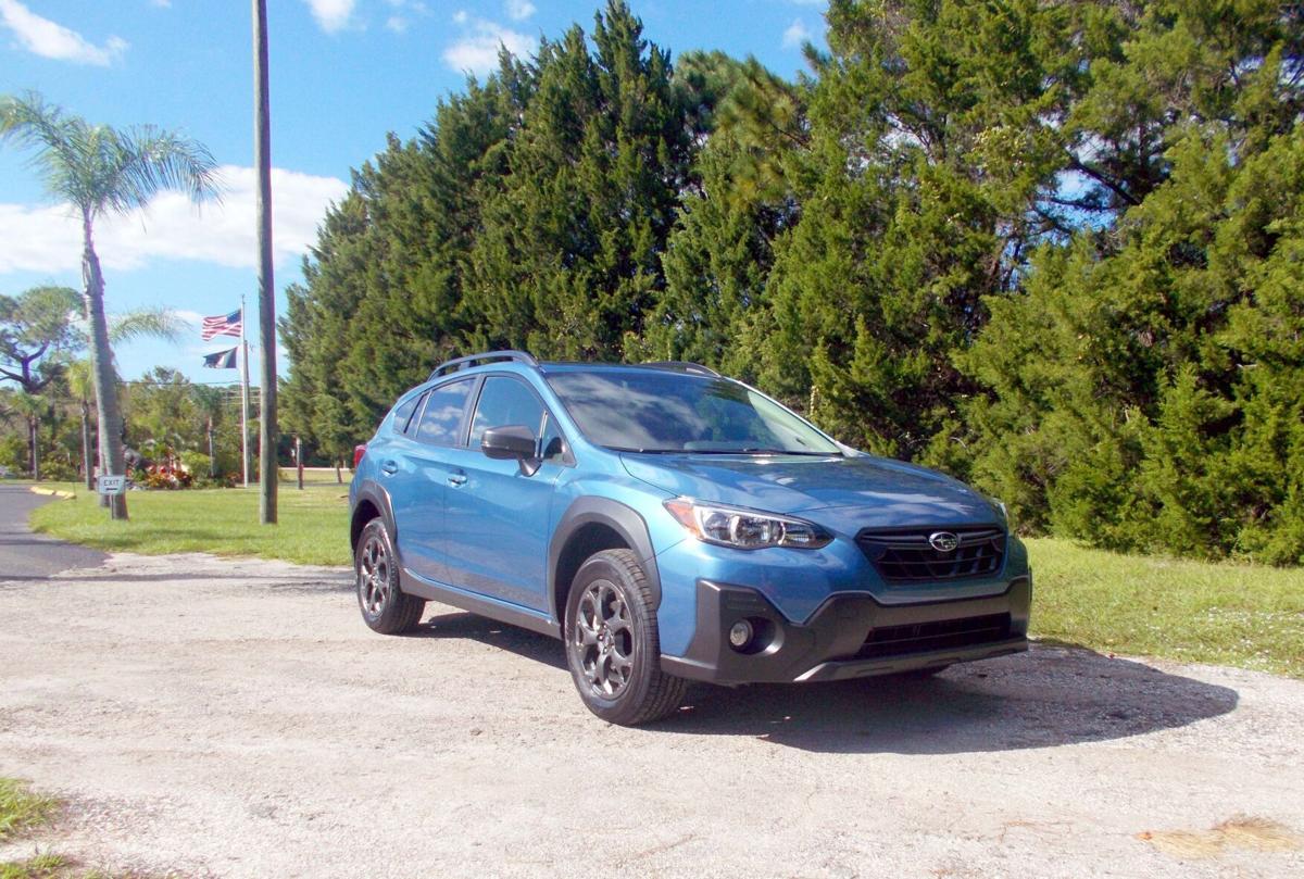 2021 Subaru Crosstrek passenger front.jpg