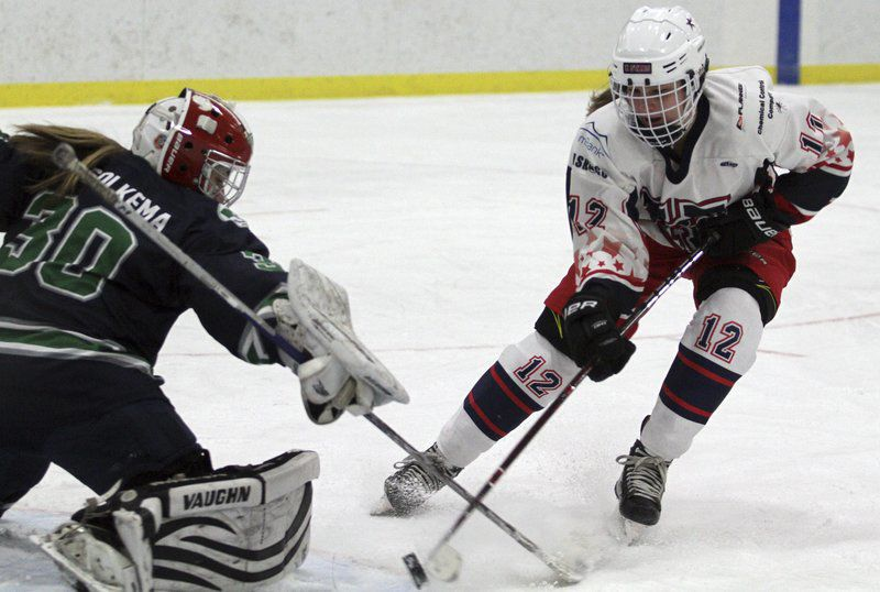 Going the extra miles: Dedicated girls hockey teams put vehicles to work as much as players