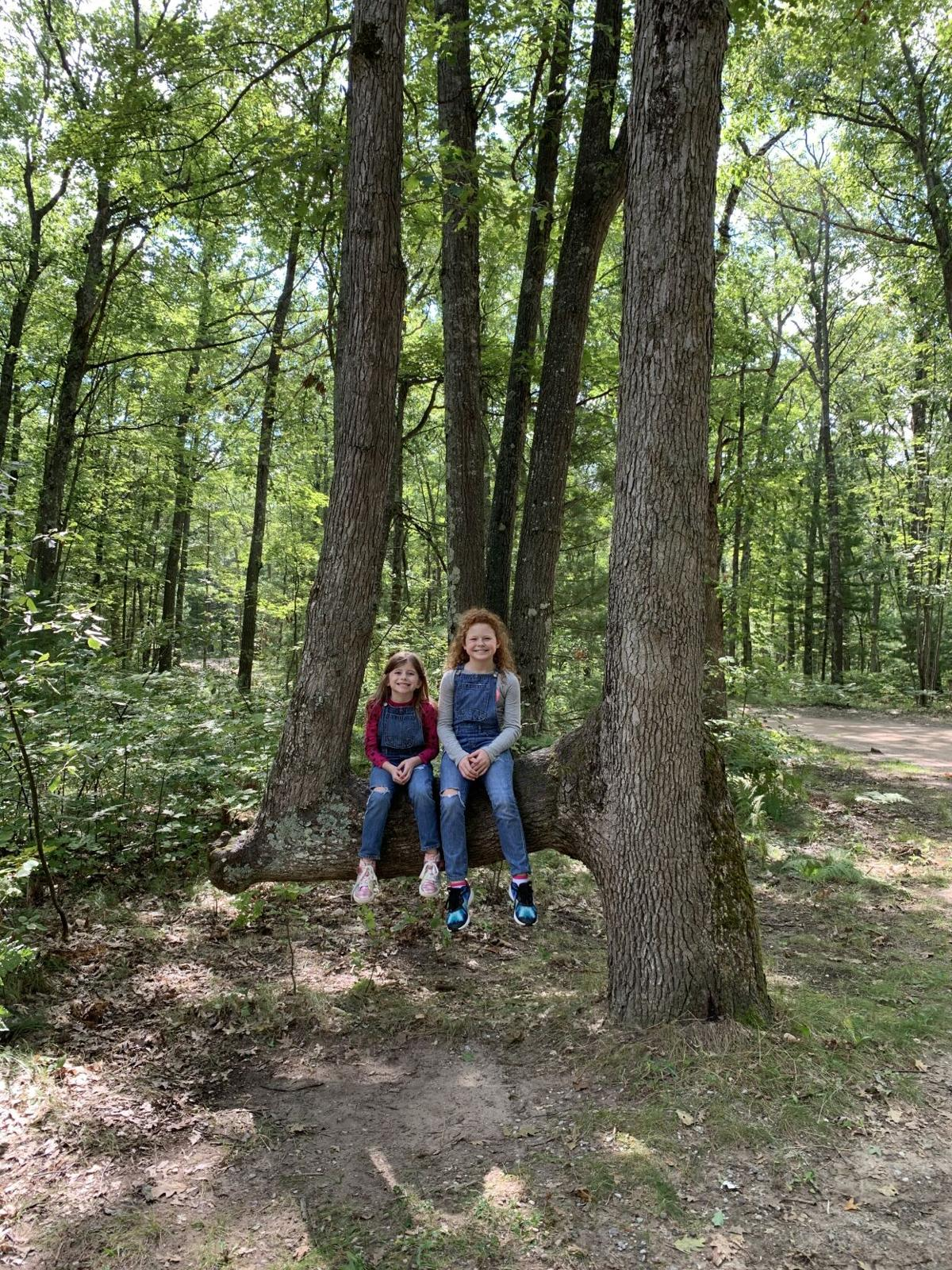 Girl Scouts at Interlochen State Park