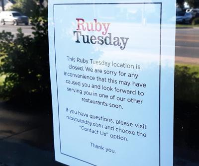photo - Ruby Tuesday closed in TC