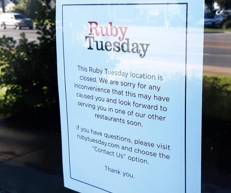 Goodbye Traverse City Ruby Tuesday Business Record