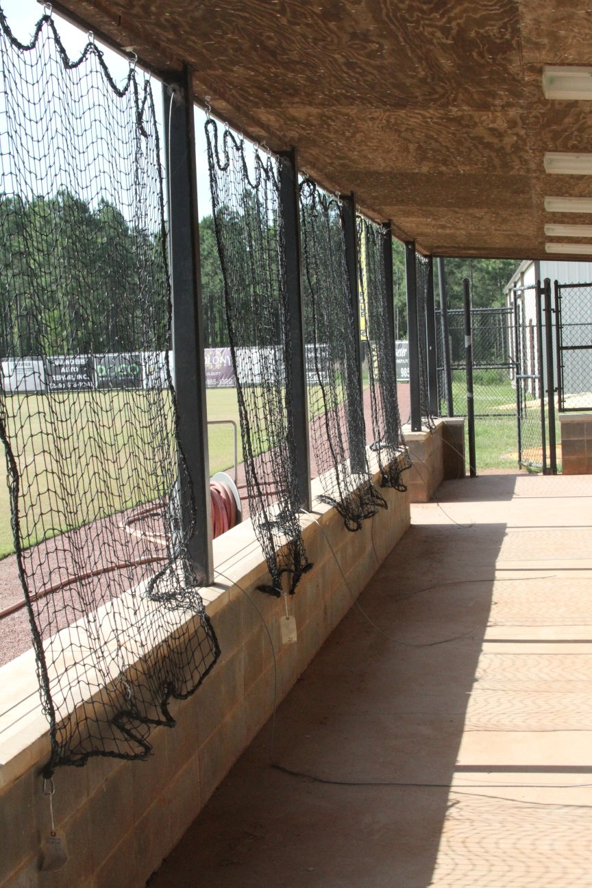 Colquitt County visitor's dugout