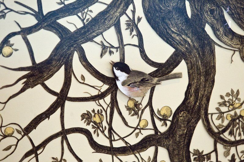 Fresh Cuts: Crooked Tree show highlights papercrafts