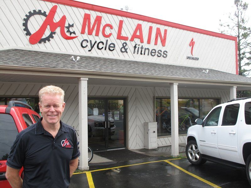McLain Cycle & Fitness recognized