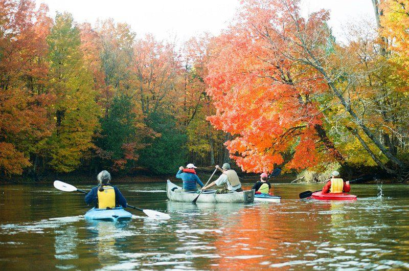 Watercolor: Rivers enhance fall color | Local News | record