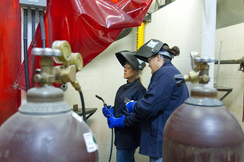 Teaching women to weld | Business | record-eagle.com