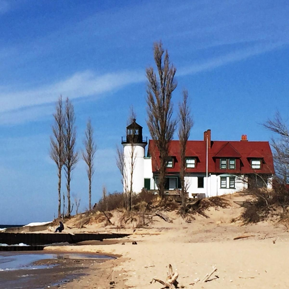 goeyes042921Spring weekend at Point Betsie Lighthouse. Photo by Janine Shelley.jpg