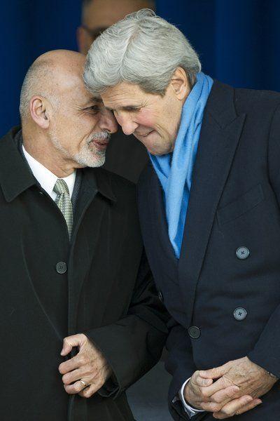 US, Afghan leaders lay groundwork for postwar relations