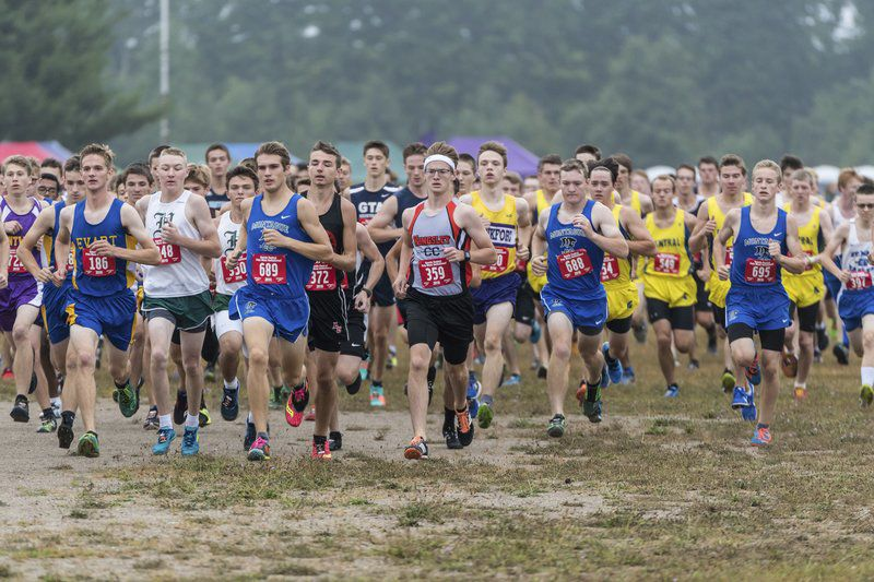 18 area teams compete in Pete Moss Cross Country invitational