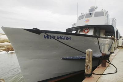 South Manitou water levels cancel ferry