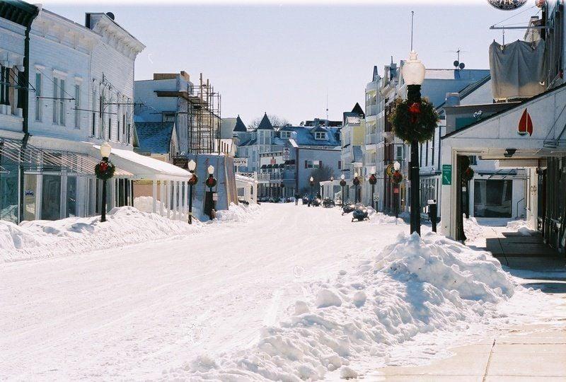 Christmas On Mackinac Island Gt Scene Record Eagle Com
