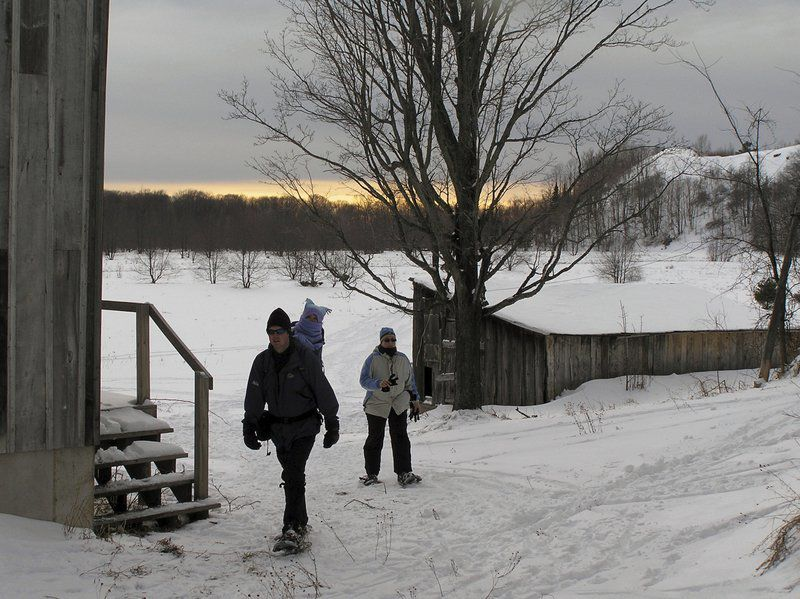 On the Trail: Treat Farm Trail easy snowshoe hike with great views