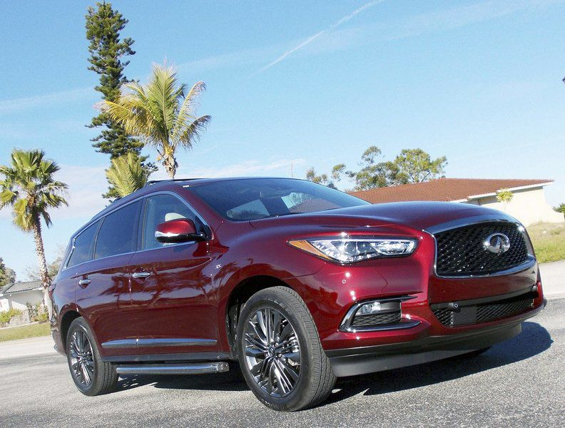 Car review: Infiniti QX60 right-sized for families