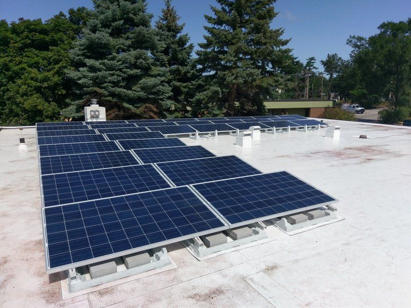Ruoff Solar s office goes solar business record eagle com