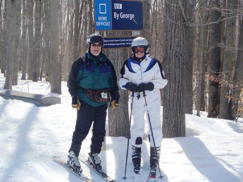 Lou Batori, 106 years old and still skiing