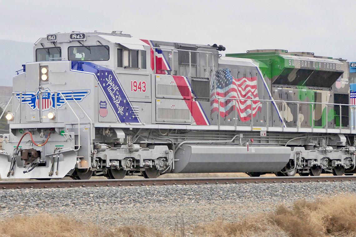 Memorial Locomotive