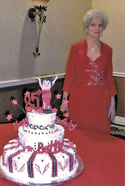 Happy birthday Betty Mock
