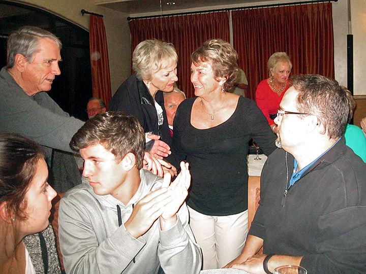 Teri Comerford 70th birthday celebration