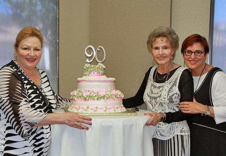 Lee Thoreen celebrates 90 years