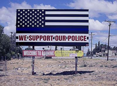 flag billboard