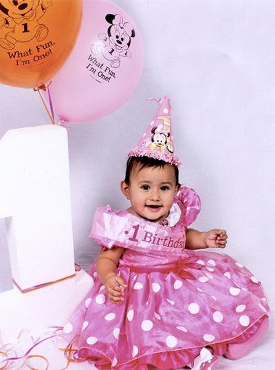 Leah Rose Martinez First Birthday