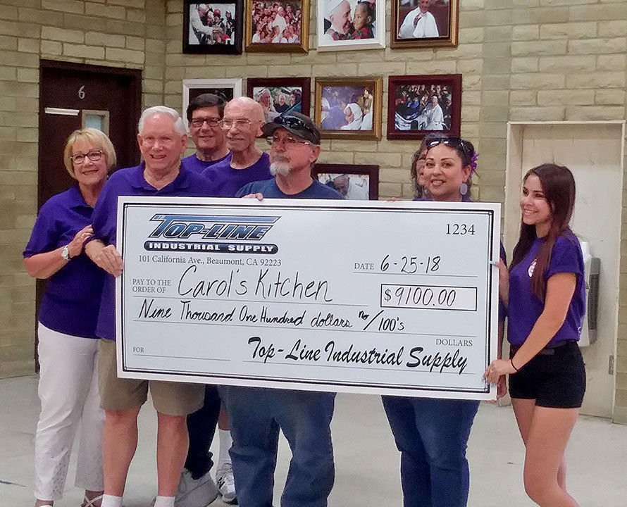 More than $9,000 donated to feed the needy