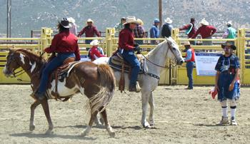 Hot Rodeo comes into Dysart Park for fun (and fundraising)